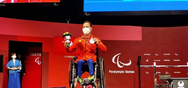 Công secures Paralympic silver in powerlifting