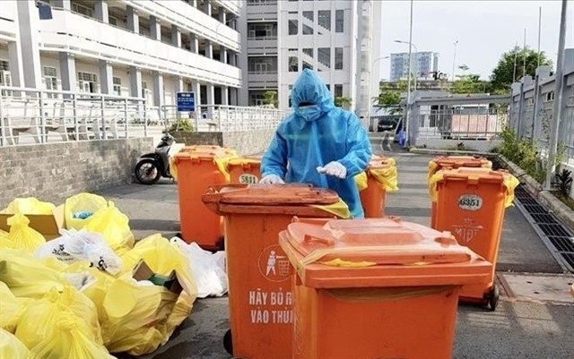 Three more companies to collect treat growing COVID-19-related wastes in HCM City