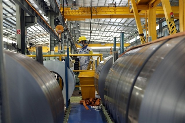 Việt Nam expects to be a net steel exporter with strong steel export growth