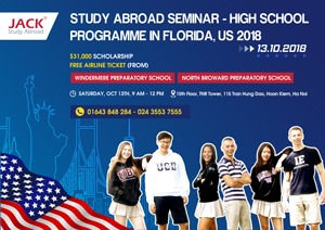 US31000 SCHOOLARSHIP FREE AIRLINE TICKET FOR HIGH SCHOOL PROGRAMME IN THE US 2018