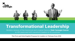 Dale Carnegie Vietnam to introduce leadership course in English