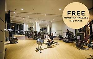 Get Monthly Free Massage When Join Fitness 2 Years Membership
