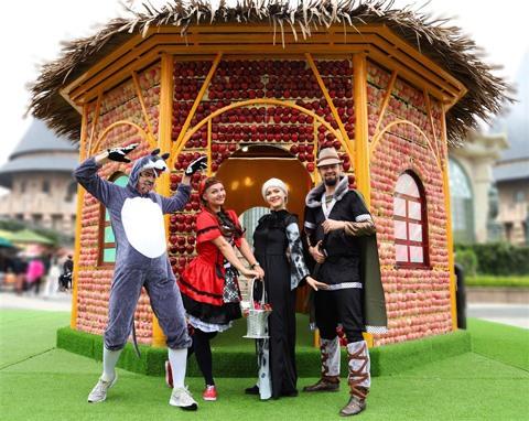 Halloween festival at Sun World Ba Na Hills