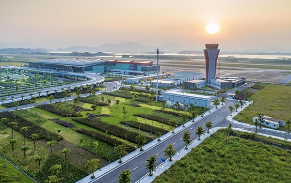 Van Don International Airport in Quang Ninh province Vietnam named Asias Leading New Airport 2019