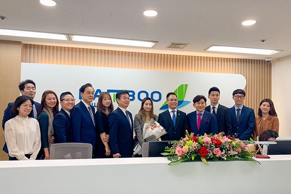 Bamboo Airways Welcomed Flight Marking Operation of Regular Route Connecting Vietnam - Korea