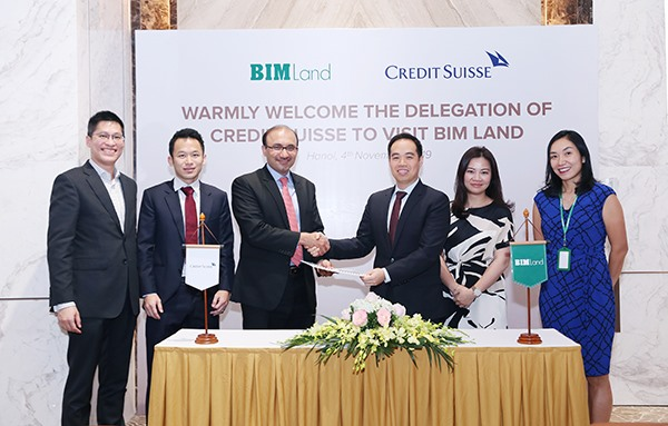 BIM Land has signed 2 offshore loan agreements worth USD 137.5 million