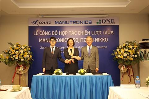 Manutronics trillion worth of handshake in global automotive electronics industry