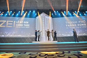The Zei My Dinh project attracted 70% of foreign visitors at official sale launch