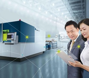 TRUMPF Vietnam showcases connected solutions for controlling and monitoring production at MTA Vietnam 2019