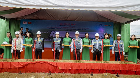 FAVV plant construction begins in Vinh Long Province