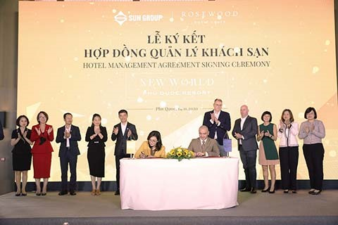 Sun Group signs cooperation agreement with Rosewood Hotel Group