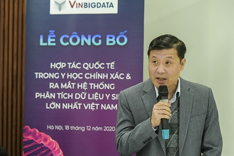 Vingroup announces international partnership launches largest biomedical data management system in Vietnam