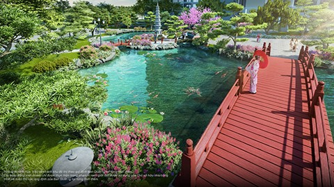 Vinhomes to officially launch the Zenpark - the Japanese spirit in the heart of Vinhomes Ocean Park