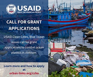 USAID Clean Cities Blue Ocean issues call for grant applications to combat ocean plastics in Vietnam
