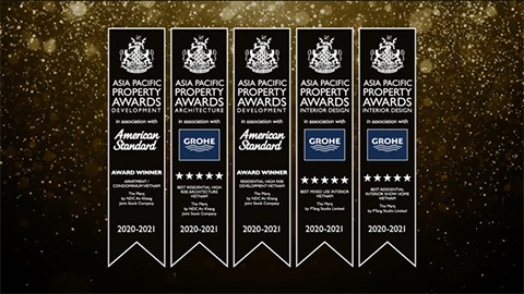 The Marq honored with 5 prestigious awards at the Asia Pacific Property Awards