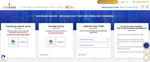 Vinhomes to officially apply O2O business model to real estate transfer channel