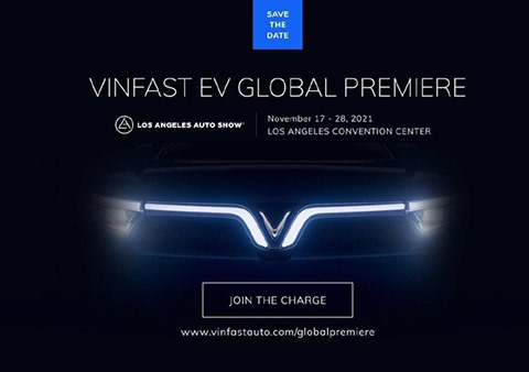 VinFast announces global debut of its new EVs at the 2021 Los Angeles Auto Show