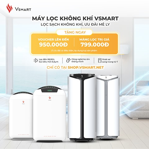 Vinsmart to start exclusive sale of air purifiers and smart home solutions on Vsmart online
