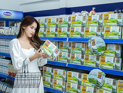 Green Farm fresh milk – an environmentally-friendly product of Vinamilk