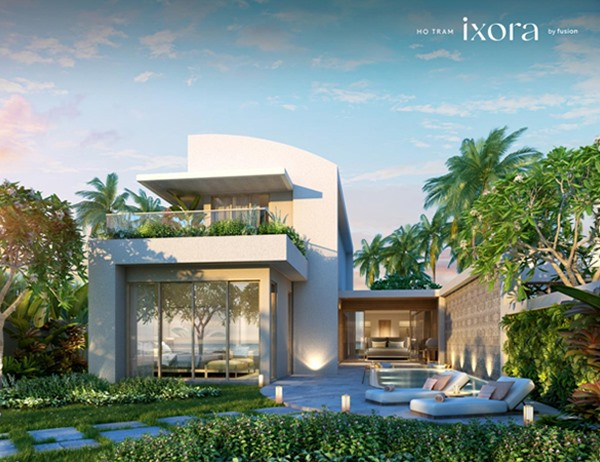 Unveiling theexclusive villa on the beach collection at Ixora Ho Tram by Fusion