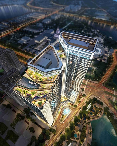 Vingroup launches Techno Park - top 10 smart office building in the world