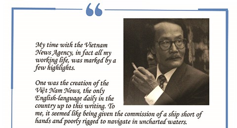 From Nguyen Cong Khuyen - former Editor-in-Chief