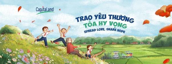 CapitaLand Vietnam supports social development of underprivileged children