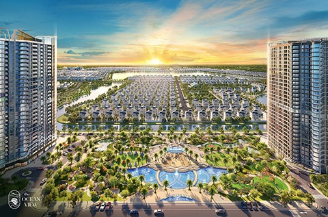 Ocean View - A resort city project in the heart of Vinhomes Ocean Park officially launched