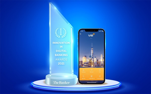 VIB receives 'Innovation in Digital Banking 2021 award from The Banker
