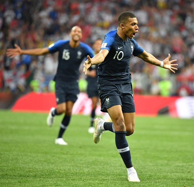 France beat Croatia to become World Cup champion