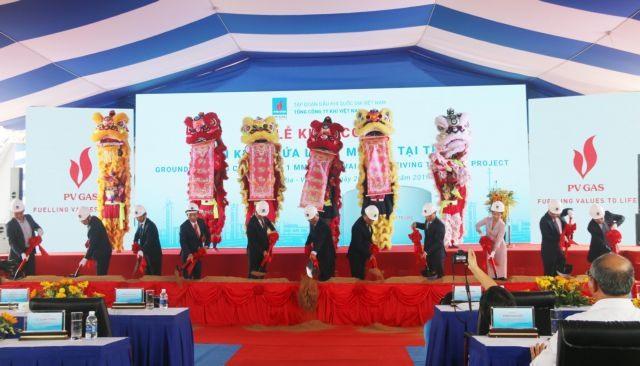 Work on LNG storage facility begins in Bà Rịa-Vũng Tàu