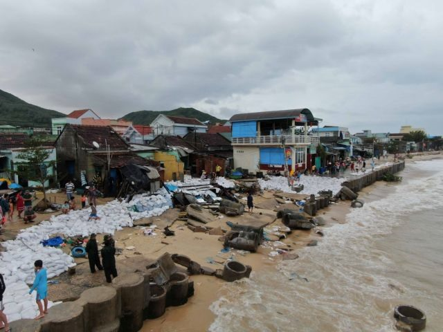 Typhoon Matmo injures 6 collapses hundreds of houses