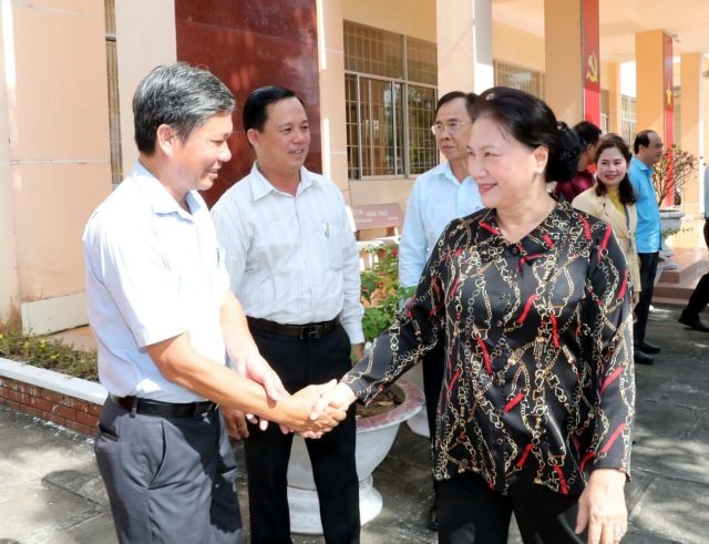 Cần Thơ voters informed about outcomes of NAs 8th session