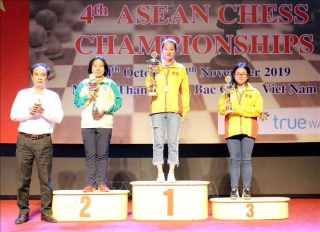 Việt Nam dominate ASEAN Chess Championships