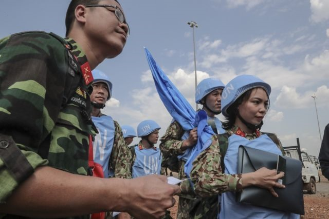 Việt Nam targets plastic-free operations high rate of female officers in its peacekeeping mission