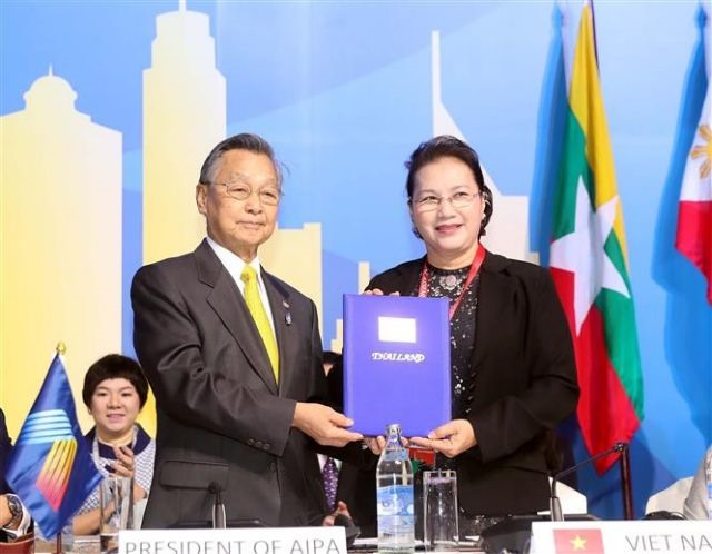 40th AIPA General Assembly concludes Việt Nam becomes chair