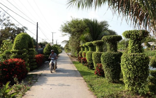 New-style rural area building programme achieves much success in Mekong Delta