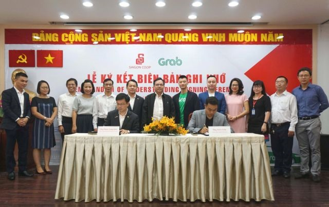 Saigon Co.op signs deal with Grab to offer consumers new experiences