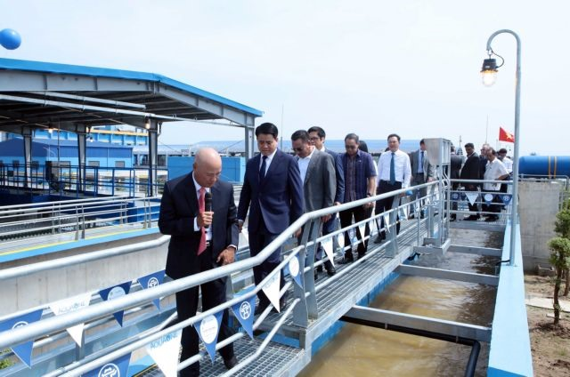 First phase of Đuống river water treatment plant inaugurated