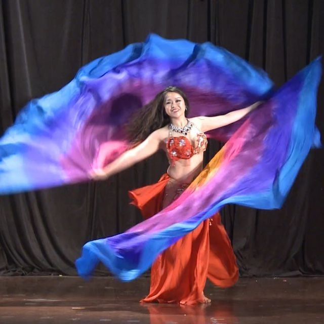 Belly dancing takes root
