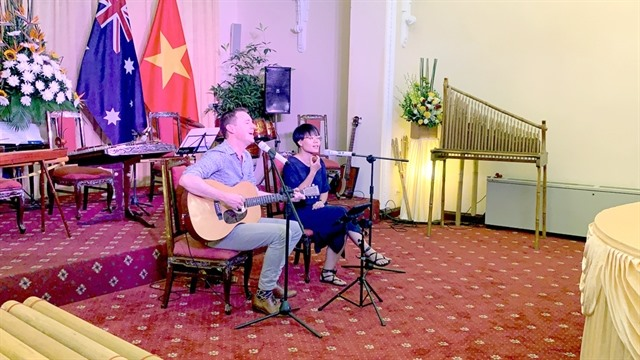 VN-Aussie artists collaborate on music project