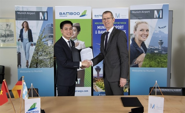 Bamboo Airways to launch direct flights on Việt Nam-Germany route