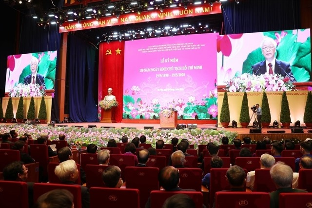 National ceremony marks President Ho Chi Minhs 130th birthday