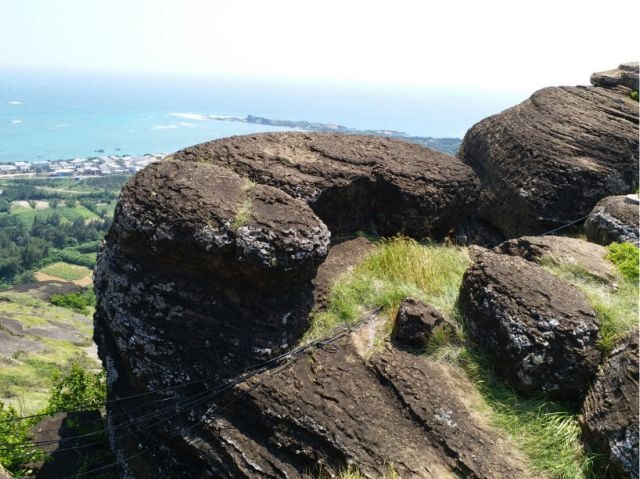 Volcanic rocks found on Phú Quý Island