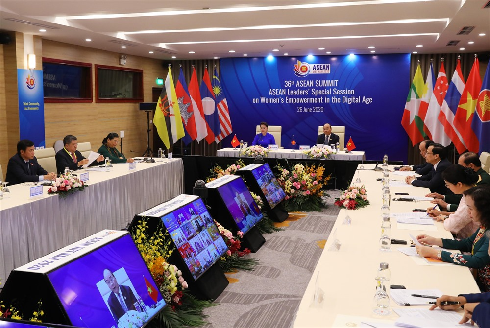 36th ASEAN Summit: Chairman Press Statement on Womens Empowerment in Digital Age