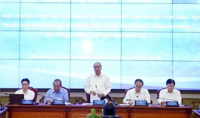 PM urges HCM City to disbursepublic investment funds
