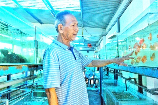 Creativity helps fish farmer gain success help his peers