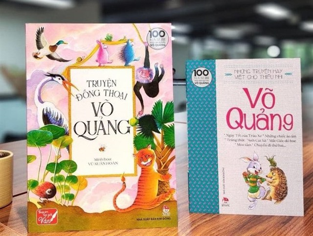 Childrens books byfamedlate author Võ Quảng reprinted