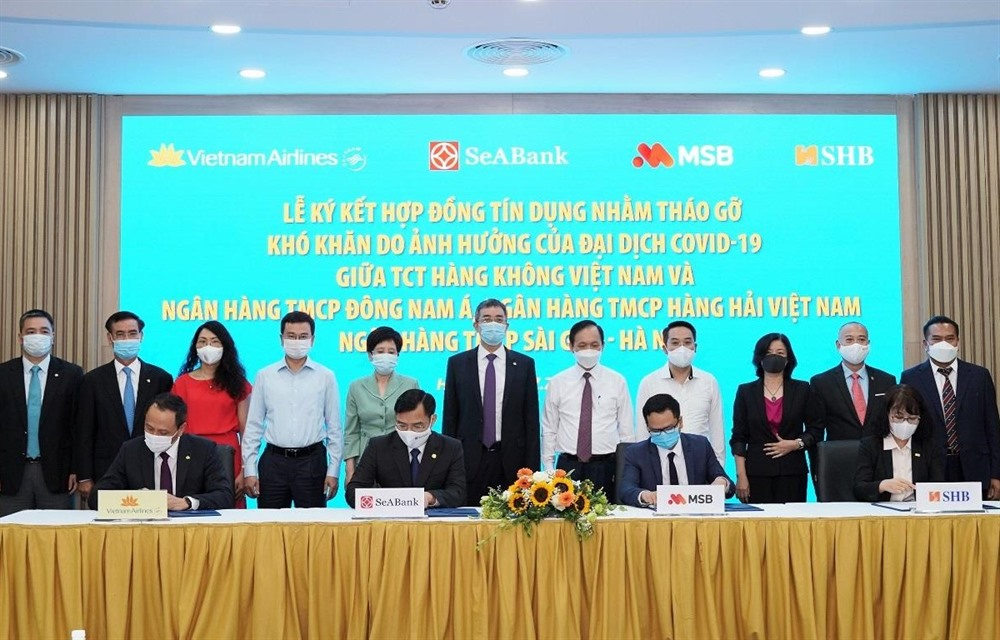 Vietnam Airlines signs 173.7m credit deal with three banks