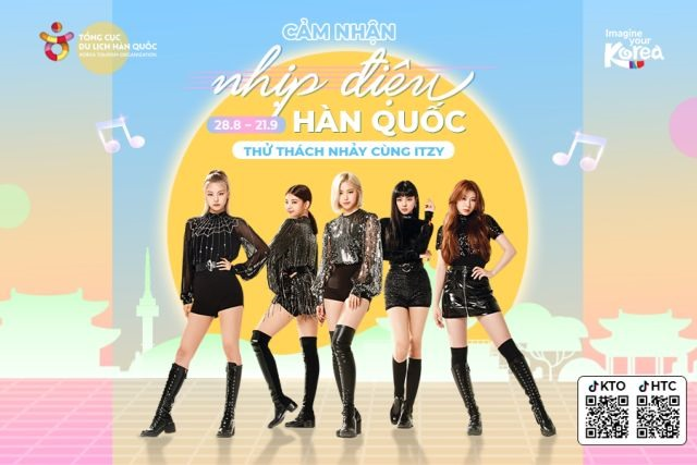 Contest encourages people to dancewith ITZY